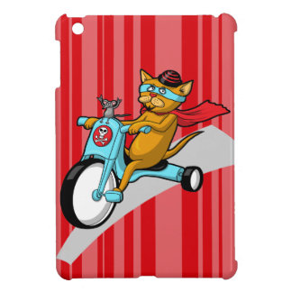 Rebel Kitty Cat with Mouse Pal Case For The iPad Mini