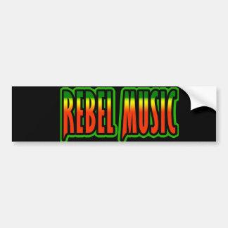 Rebel Music Bumper Sticker