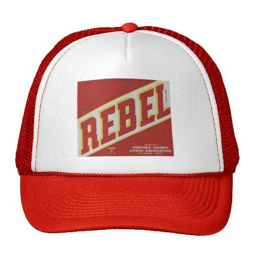 Rebel Oranges2 Hat