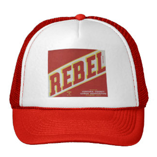 Rebel Oranges2 Trucker Hat