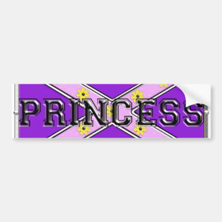 Rebel princess bumper sticker
