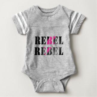 rebel rebel #2 baby bodysuit