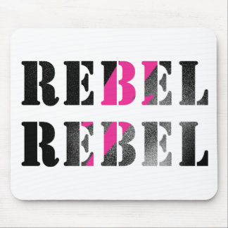 rebel rebel #2 mouse pad