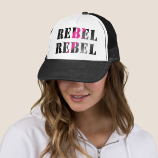 REBEL REBEL #2 TRUCKER HAT