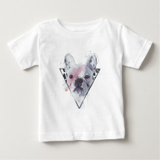 Rebel Rebel Frenchie Baby T-Shirt