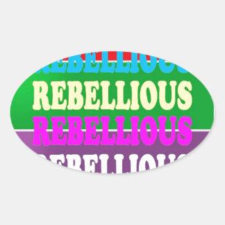 Rebel Rebellion REBELLIOUS Expression LOWPRICE GIF Stickers