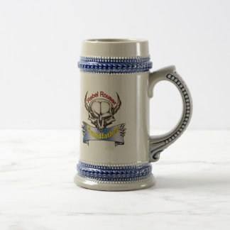 Rebel Rouser Grandpa Father's Day Gifts 18 Oz Beer Stein