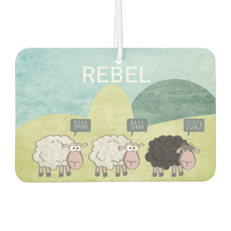 Rebel Sheep Car Air Freshener