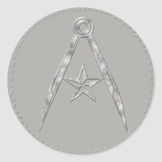 Rebel Terran compass and star Sticker (Gray)