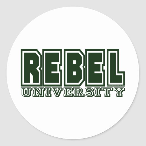 Rebel University Sticker