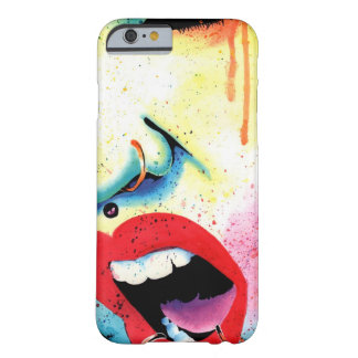 Rebel Yell - Pop Art Portrait Barely There iPhone 6 Case