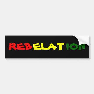REBELATION CAR BUMPER STICKER
