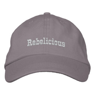 Rebelicious Embroidered Hat