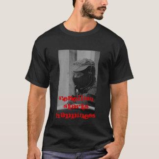 Rebellion Starts Happiness T-Shirt