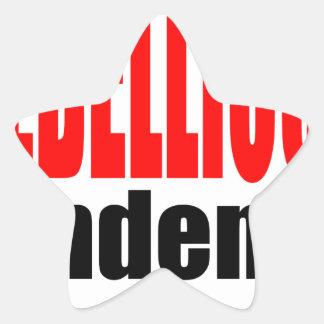 REBELLION tendency rebellious age teenager conflic Star Sticker