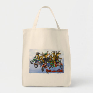 """Rebels without a Claus"" Tote Bag"