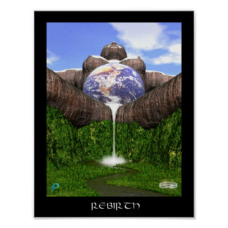 Rebirth (8.5 by 11) poster