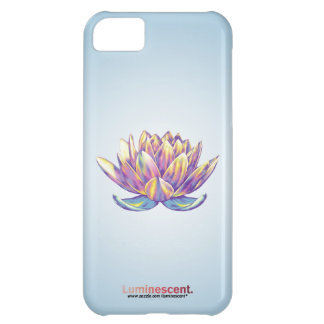 Rebirth Lotus - iPhone5 Case - Blue