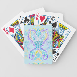 Rebirth, New age, meditation, boho, hippie Bicycle Playing Cards