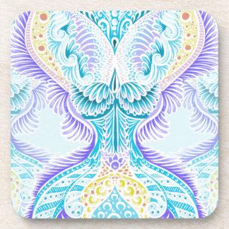 Rebirth, New age, meditation, boho, hippie Coaster