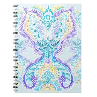 Rebirth, New age, meditation, boho, hippie Notebook
