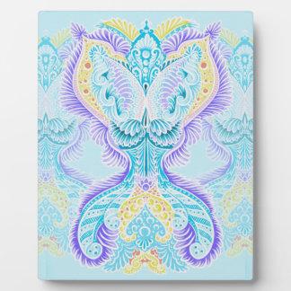 Rebirth, New age, meditation, boho, hippie Plaque