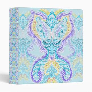 Rebirth Pattern, New age, meditation, boho, hippie Vinyl Binders