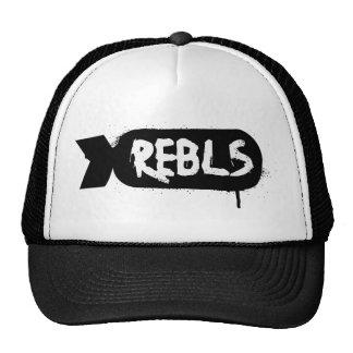 Rebls Black Logo Hat Mythgrafix