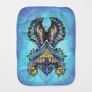 Reborn - Dark, bohemian, spirituality Burp Cloth