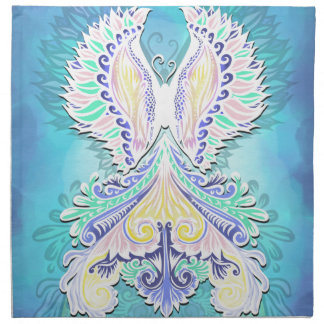 Reborn - Light, bohemian, spirituality Napkin