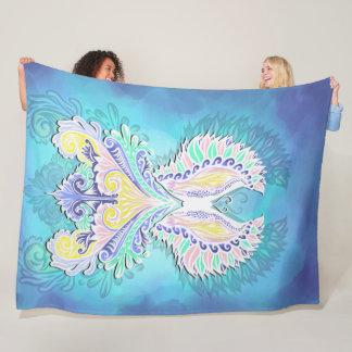 Reborn - Light, bohemian, spirituality  Pattern by Fleece Blanket