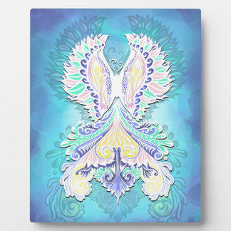 Reborn - Light, bohemian, spirituality Plaque