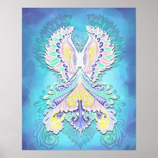 Reborn - Light, bohemian, spirituality Poster