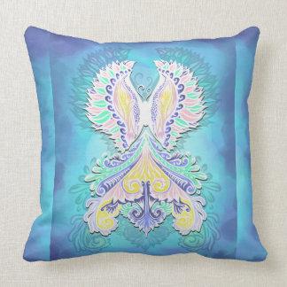 Reborn - Light, bohemian, spirituality Throw Pillow