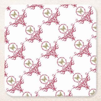 Reborn Square Paper Coaster