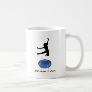 Rebounding (female) coffee mug