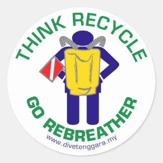 Rebreather sticker