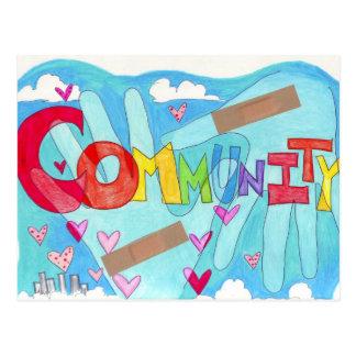 Rebuild Community Postcard