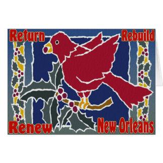 Rebuild New Orleans Cards