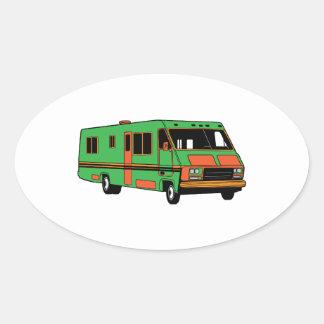Rec Vehicle Oval Sticker