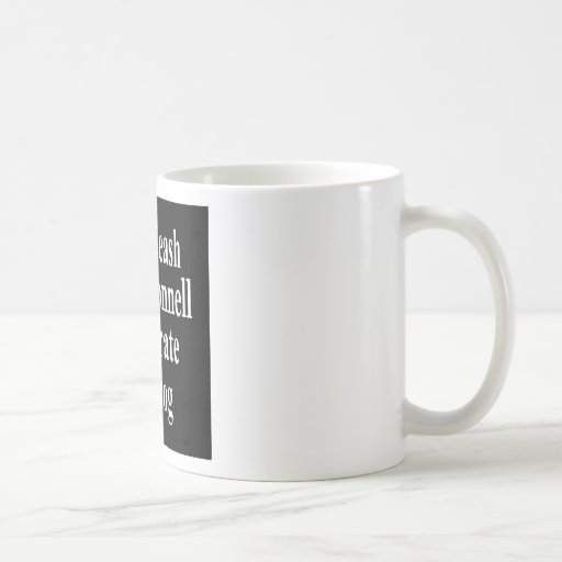Recall Governor Mitch McConnell Koch Oil's Minion Coffee Mugs