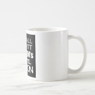 Recall Governor Rick Scott Koch Oil's  Evil Minion Classic White Coffee Mug
