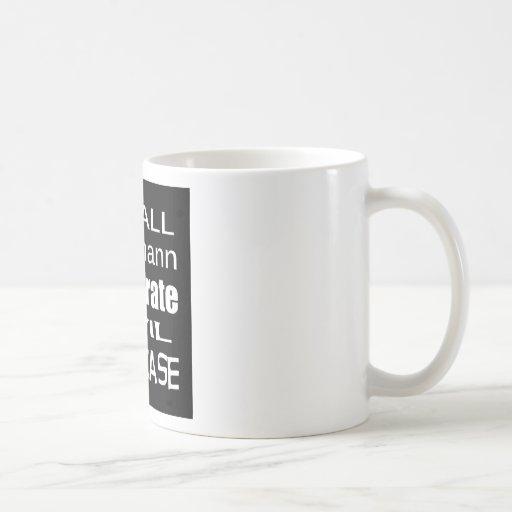 Recall Michele Bachmann Corporate Evil Minion Coffee Mug