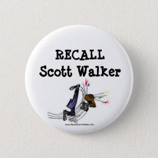 Recall Scott Walker Button