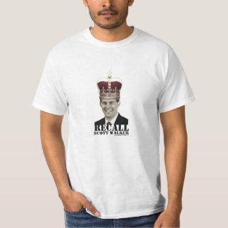 Recall Scott Walker T Shirt