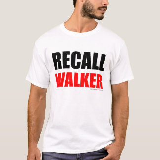 Recall Walker (light colors) T-Shirt