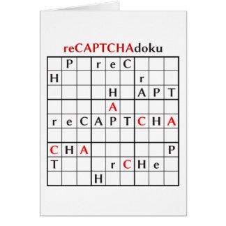 recaptchadoku card