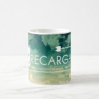 Recarga Venid Y Reposad Un Poco Taza Spanish Mug