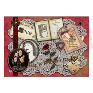 Receipe For Love - Mothers Day Card