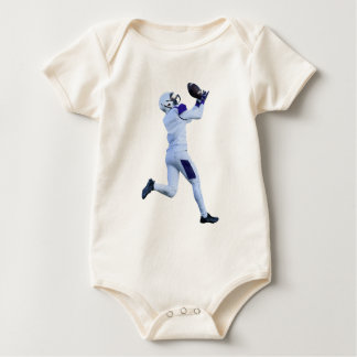 Receiver Catching the Long Bomb Baby Bodysuit